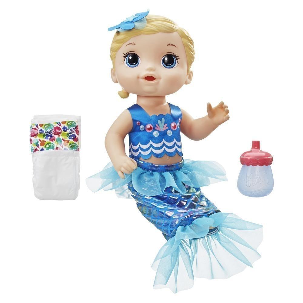 baa6acdc87 boneca baby alive linda sereia loira e3693 - melhor preço. Carregando zoom.