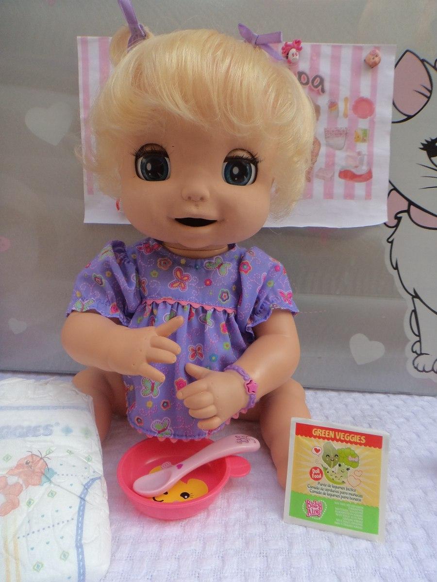 Boneca Baby Alive Linda Surpresa Interativa Q Fala R