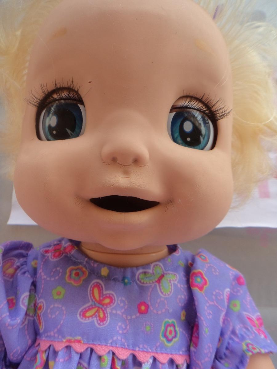 Boneca Baby Alive Linda Surpresa Interativa Q Fala Hasbro
