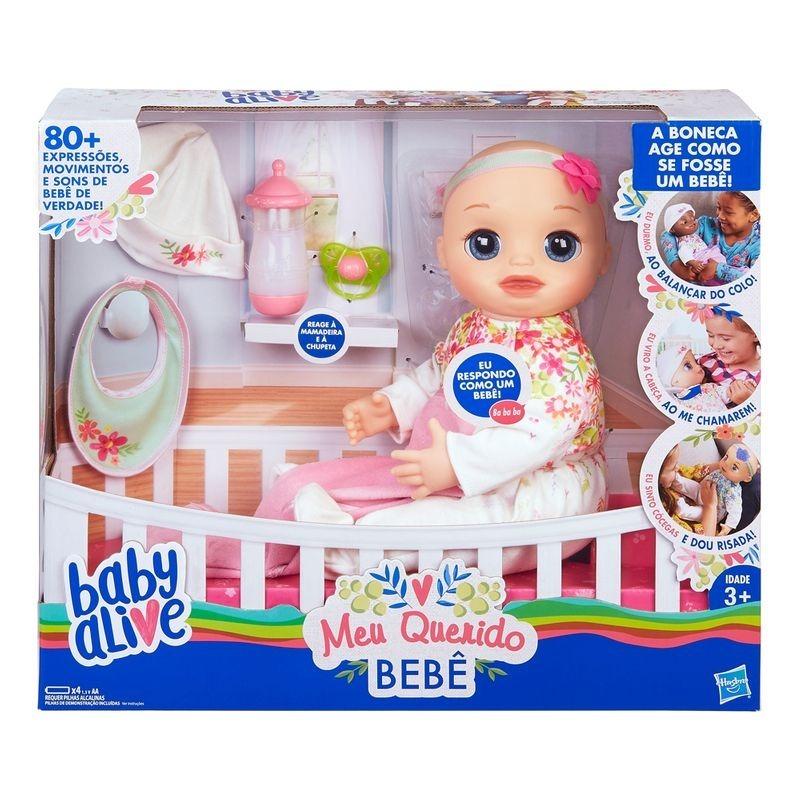 17aa9063a3 boneca baby alive meu querido bebê e2352 hasbro. Carregando zoom.
