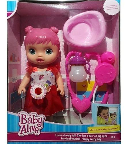 Boneca Baby Alive Musical Cuida De Mim Rosa Chora E Faz