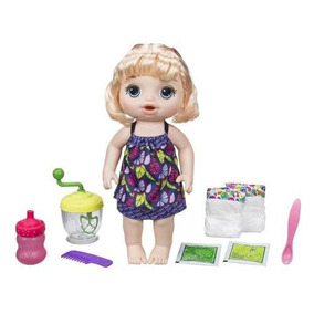 8135fcf61f Boneca Baby Alive Comilona Loira Hasbro - Bonecas no Mercado Livre ...