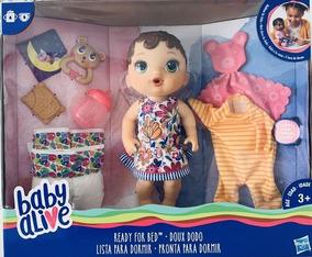 69121abc9e Baby Alive Hora De Dormir Antiga no Mercado Livre Brasil