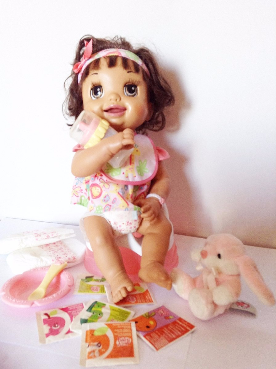78323286bb boneca baby alive troninho completa - reborn - português. Carregando zoom.