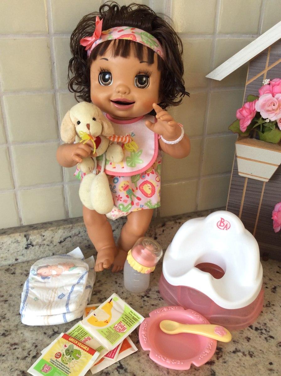 Boneca Baby Alive Troninho Reborn Fala Portugu 234 S R