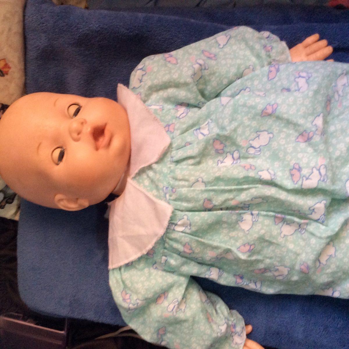 boneca baby corpo pano d cada de 80 r 160 00 em mercado livre. Black Bedroom Furniture Sets. Home Design Ideas
