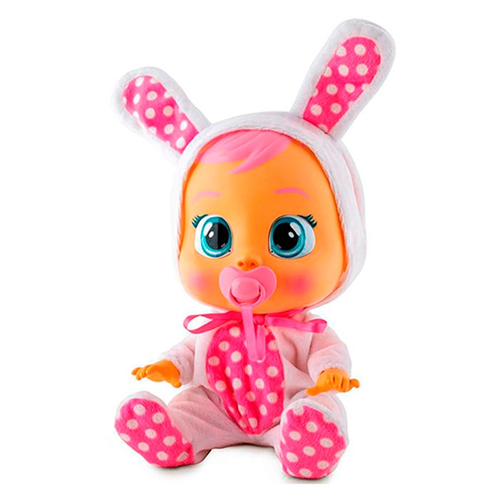 Boneca Baby Cry Babies Alive Chora De Verdade Menina - R ...