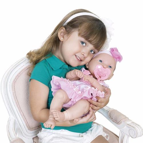boneca baby ninos recem nascido + anabelle diveretoys