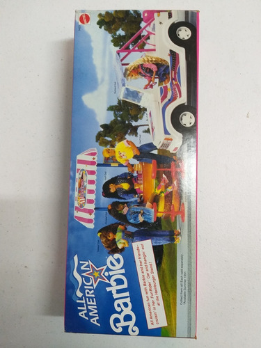 boneca barbie all american reebok 1990 nrfb caixa perfeita