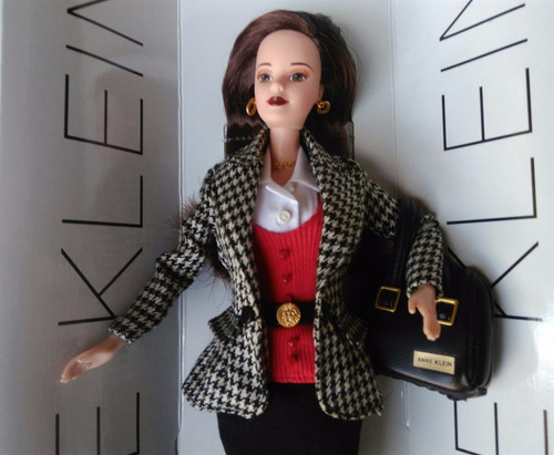 boneca barbie anne klein edição limitada de 1997
