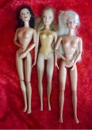 boneca  barbie antiga  - lote  -  mattel