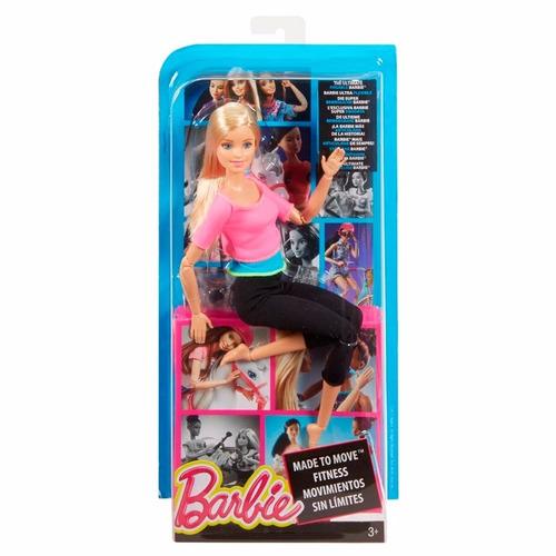 boneca barbie articulada feita p/ mexer sortida dvf68 mattel