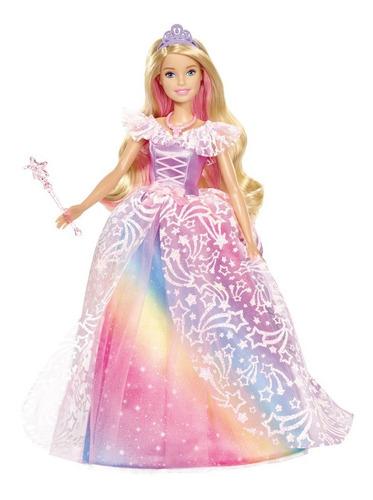 boneca barbie - barbie dreamtopia - vestido brilhante - matt