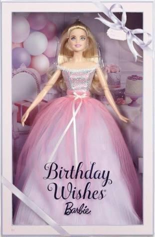 Boneca Barbie Collector Birthday Wishes 2017 Loira Promocao