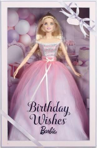 Boneca Barbie Collector Birthday Wishes Aniversario 2017