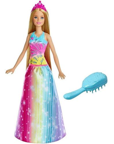 boneca barbie - dreamtopia - cabelos mágicos - mattel