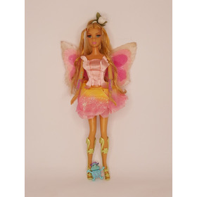 Boneca Barbie Fairytopia  Fada Do Campo - Elina