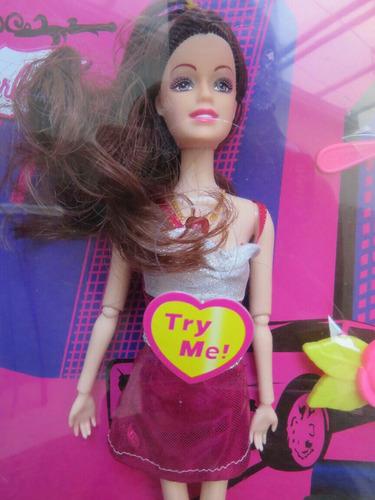 boneca barbie fashion acessórios