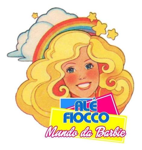 boneca barbie fashionistas 144 cabelo trançado curvy negra