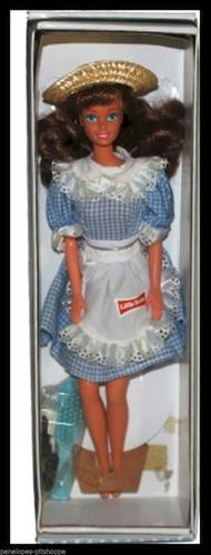 boneca barbie  little debbie snacks ano 1992 mattel 10123