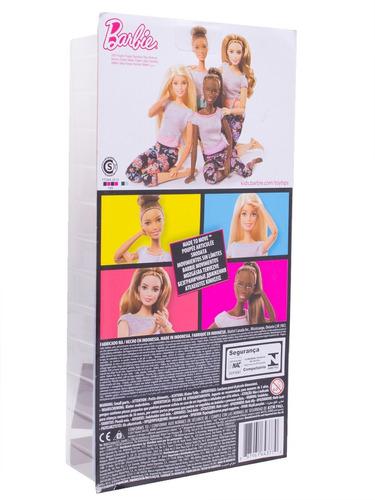boneca barbie made to move (feita para mexer) curvy ftg80 -