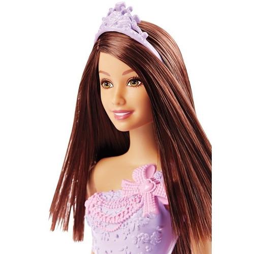 boneca barbie princesa morena dmm06 mattel