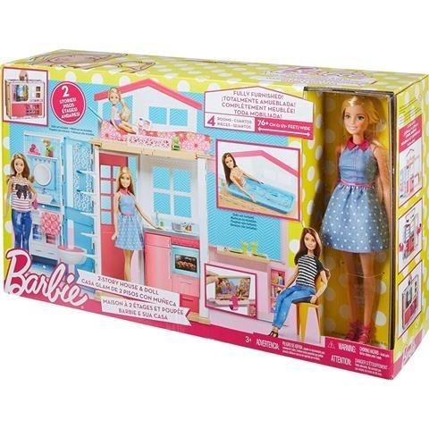 boneca barbie real barbie e sua casa