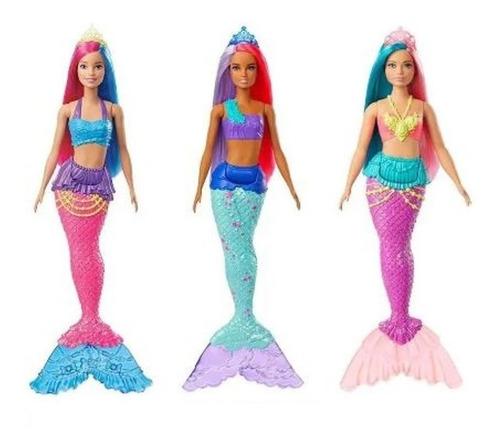 boneca barbie sereia dreamtopia mattel