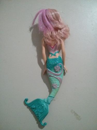 boneca barbie sereia em perfeito estado raro