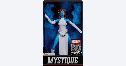 boneca barbie signature marvel 80 anos mystique mística