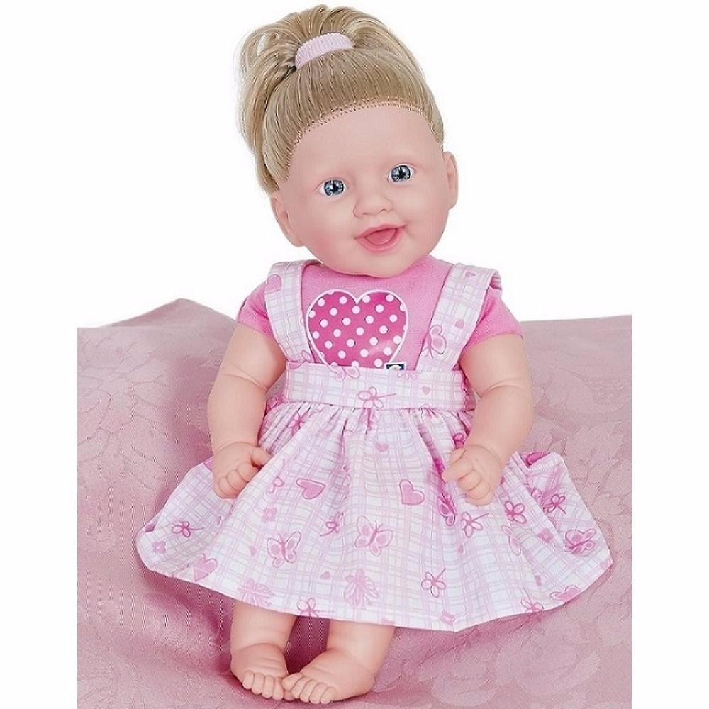 Boneca Bebê 115 Frases Linda Alive Original Cotiplás 12x Sj R 46