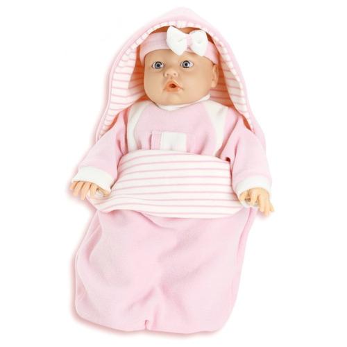boneca bebê jensen dorme bebê chora e ri - roma brinquedos