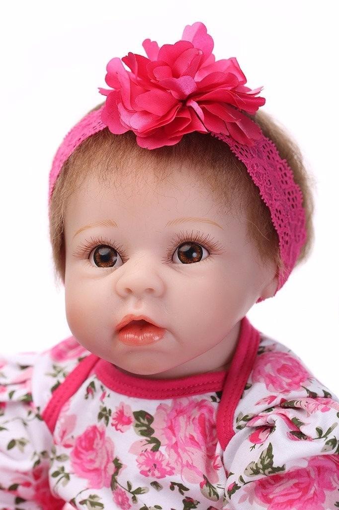 boneca beb reborn doll real menina baby r 649 99 em. Black Bedroom Furniture Sets. Home Design Ideas