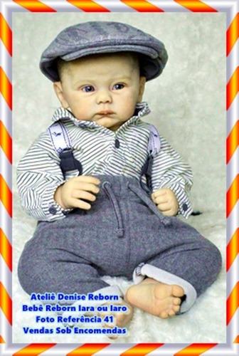 boneca bebê reborn iara ou iaro kit connolly sem enxoval