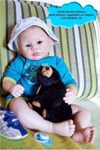 boneca bebê reborn jaqueline parece de verdade quase real
