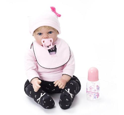 boneca bebê reborn menina linda kaydora carol original