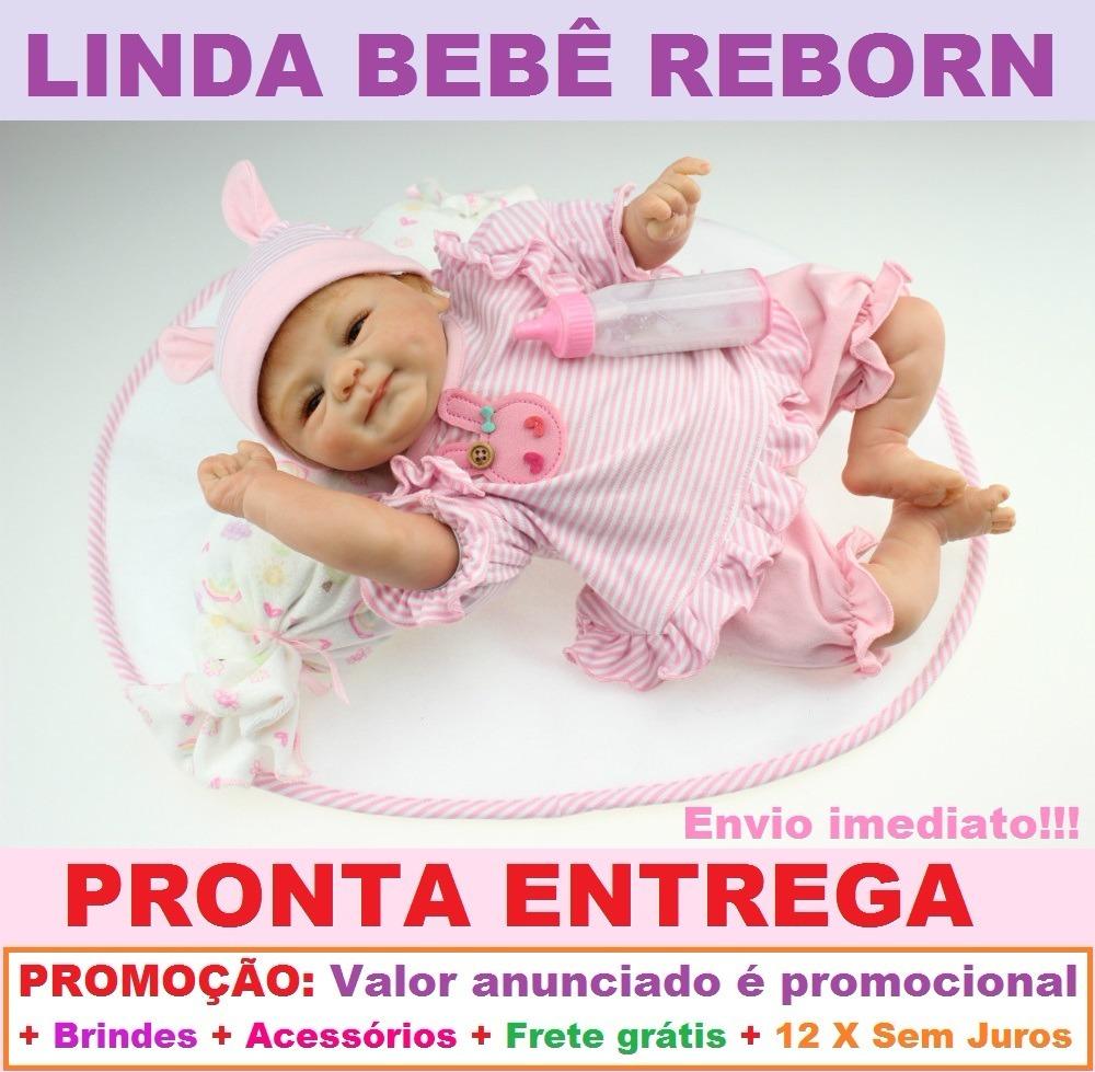 0b4d813ad boneca bebê reborn silicone -barata- pronta entrega-promoção. Carregando  zoom.