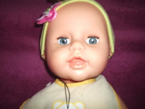 boneca bebe estrels antiga chora olhos que dormem