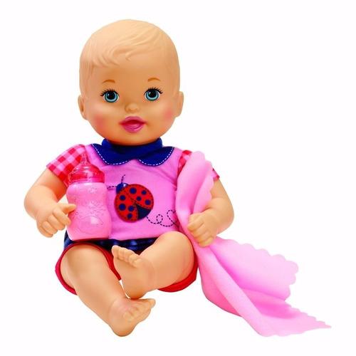 boneca bebe little mommy recem nascido cjt35 - bonellihq d17