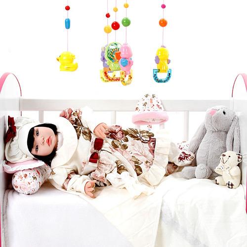 boneca bebe reborn menina grazi creme cegonha reborn dolls