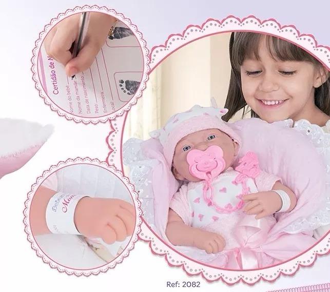 935a297d8 Boneca Bebezinho Da Mamãe Cotiplas - R  150