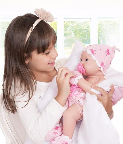 boneca bebezinho da mamãe cotiplás tipo reborn frete grátis