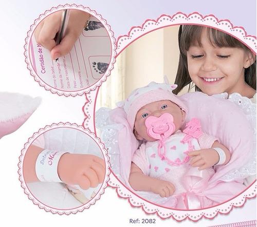 boneca bebezinho da mamãe reborn recem nascida cotiplas