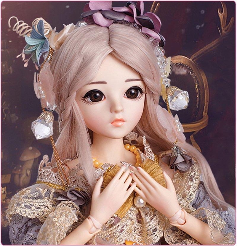 313b27e82 Boneca Bjd Doll Completa Com Dezoito Articulações Modelo Rar - R ...