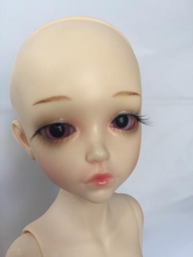 boneca bjd recast  1/6  doll  normal skin + makeup