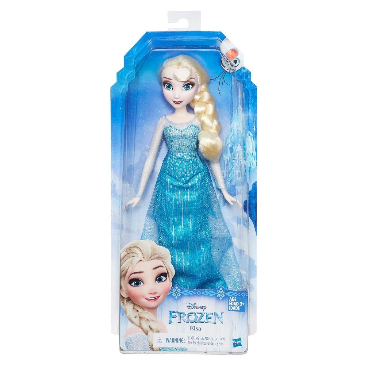 0927efa594 boneca clássica elsa frozen original disney hasbro b5162. Carregando zoom.