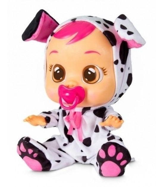 Boneca Cry Babies Baby Dotty Chora Com Lágrimas Multikids ...