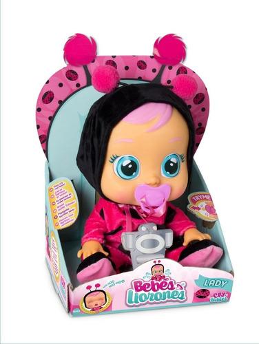 boneca cry babies original lady multikids chora sai lágrima