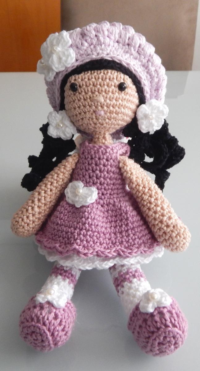 Receita escrita boneca Lulu amigurumi   Bonecas de tricô, Bonecas ...   1200x647