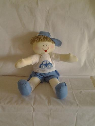 boneca de pano artesanal decoração quarto bebe e  meninos